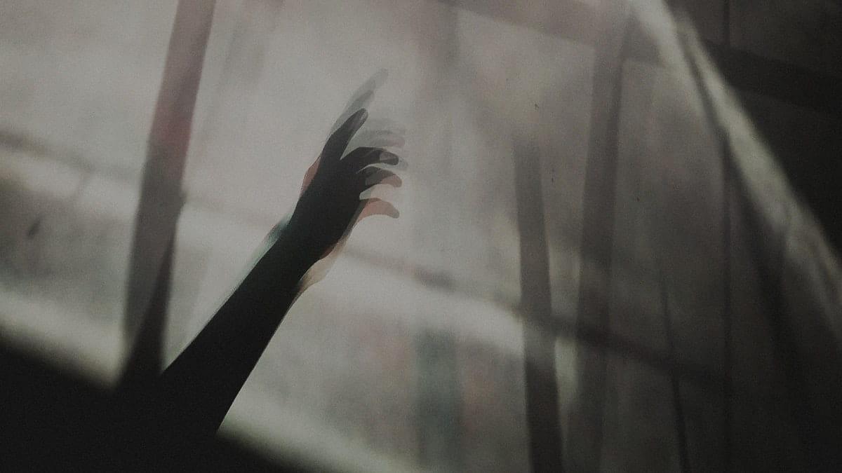 detrás de la cortina y te sigo viendo