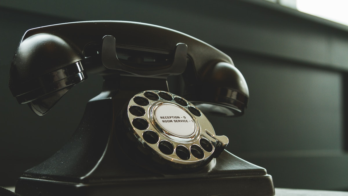 teléfono antiguo, retro, vintage. GeorgioGalben.com